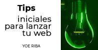 Portada de tips para diseñar una web