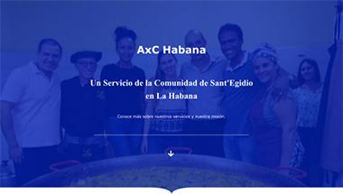 Diseño de página web para una asociación.