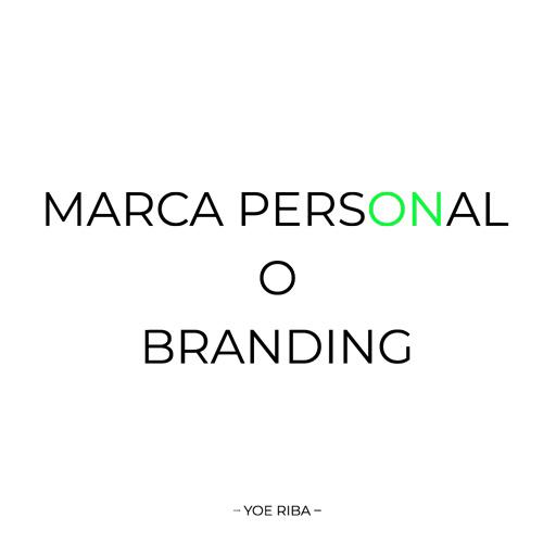 Marca personal & Branding