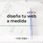 Imagen de página de servicio de diseño y diseñador web en Gandía. Servicios de diseño de sitio web en Gandia y La Safor y alrededores en Valencia, España