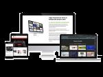 Imagen de sitios webs de buen diseño y adaptables a varios dispositivos. Son responsive. Optimizados para seo